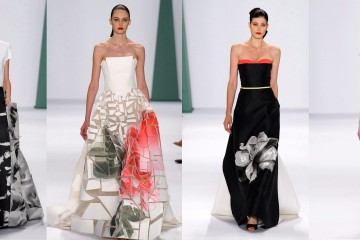Carolina Herrera runway 2015 new york