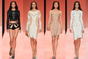 Herve Leger Spring-Summer 2015 collection