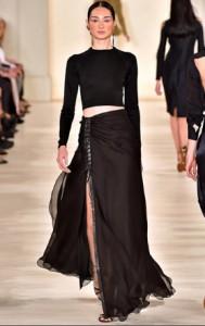 ralph lauren long skirt spring 2015
